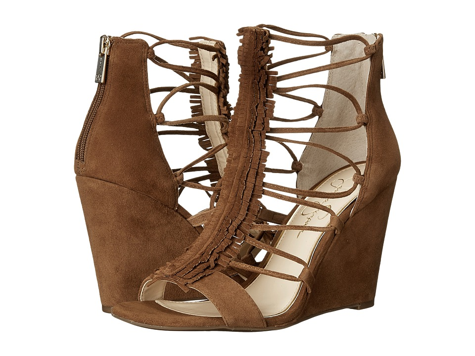 Jessica Simpson - Beccy (Canela Brown Luxe Kid Suede) Women