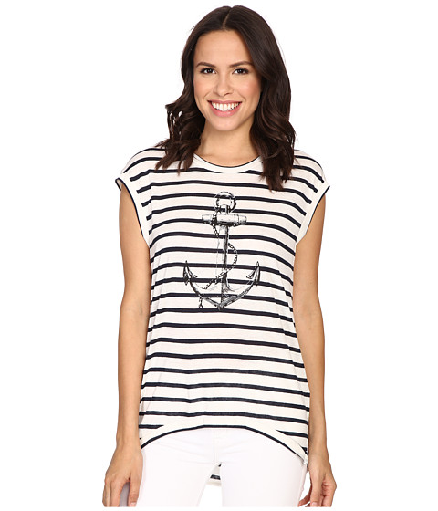 The Beginning Of Fiona High-Low Tee w/ Anchor