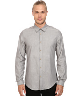 Ben Sherman - Long Sleeve Herringbone Spot Woven Shirt