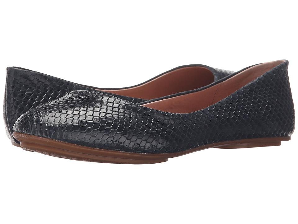 Miz Mooz Phaedra Navy Womens Flat Shoes