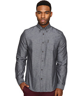Ben Sherman - Long Sleeve Herringbone Donegal Woven Shirt