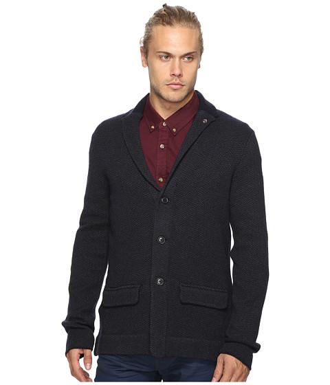 Ben Sherman Long Sleeve Herringbone Soft Blazer Shirt