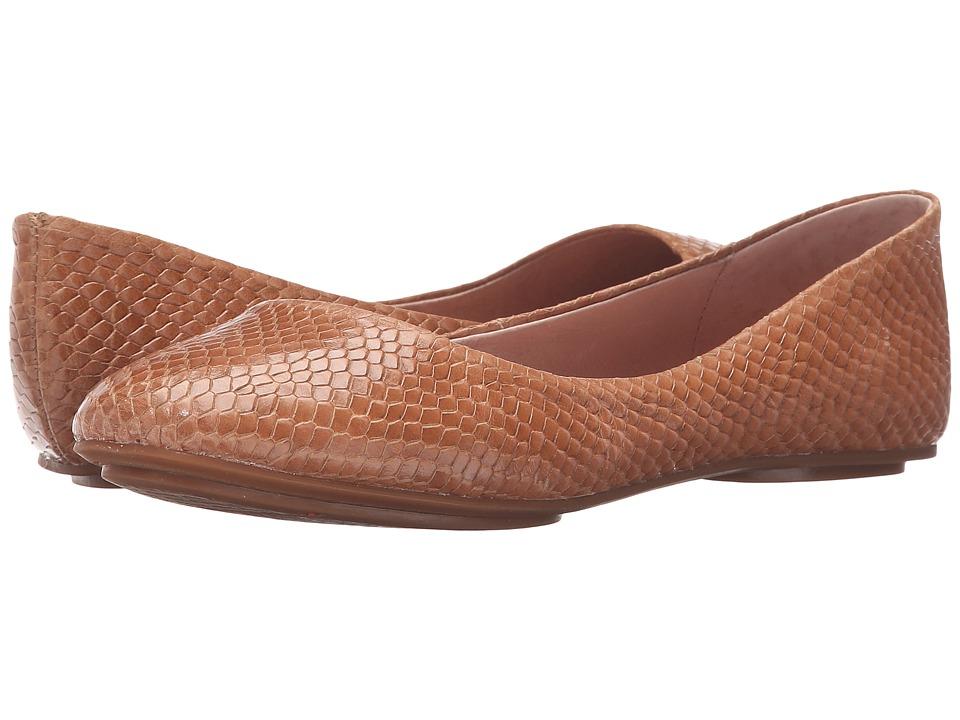Miz Mooz Phaedra Tan Womens Flat Shoes