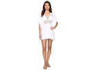 Lace Insert Kaftan Cover-Up