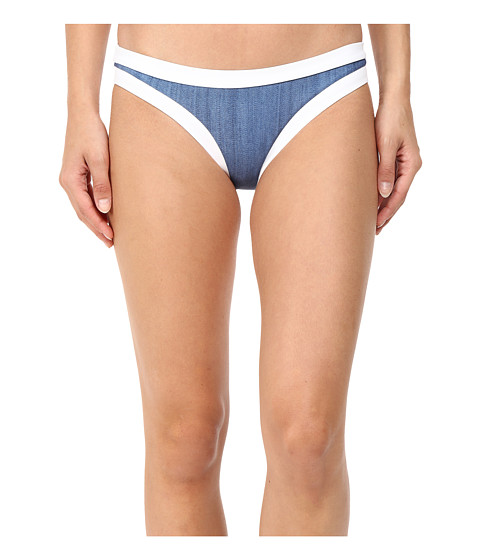 Seafolly Block Party Hipster Bottoms - Denim
