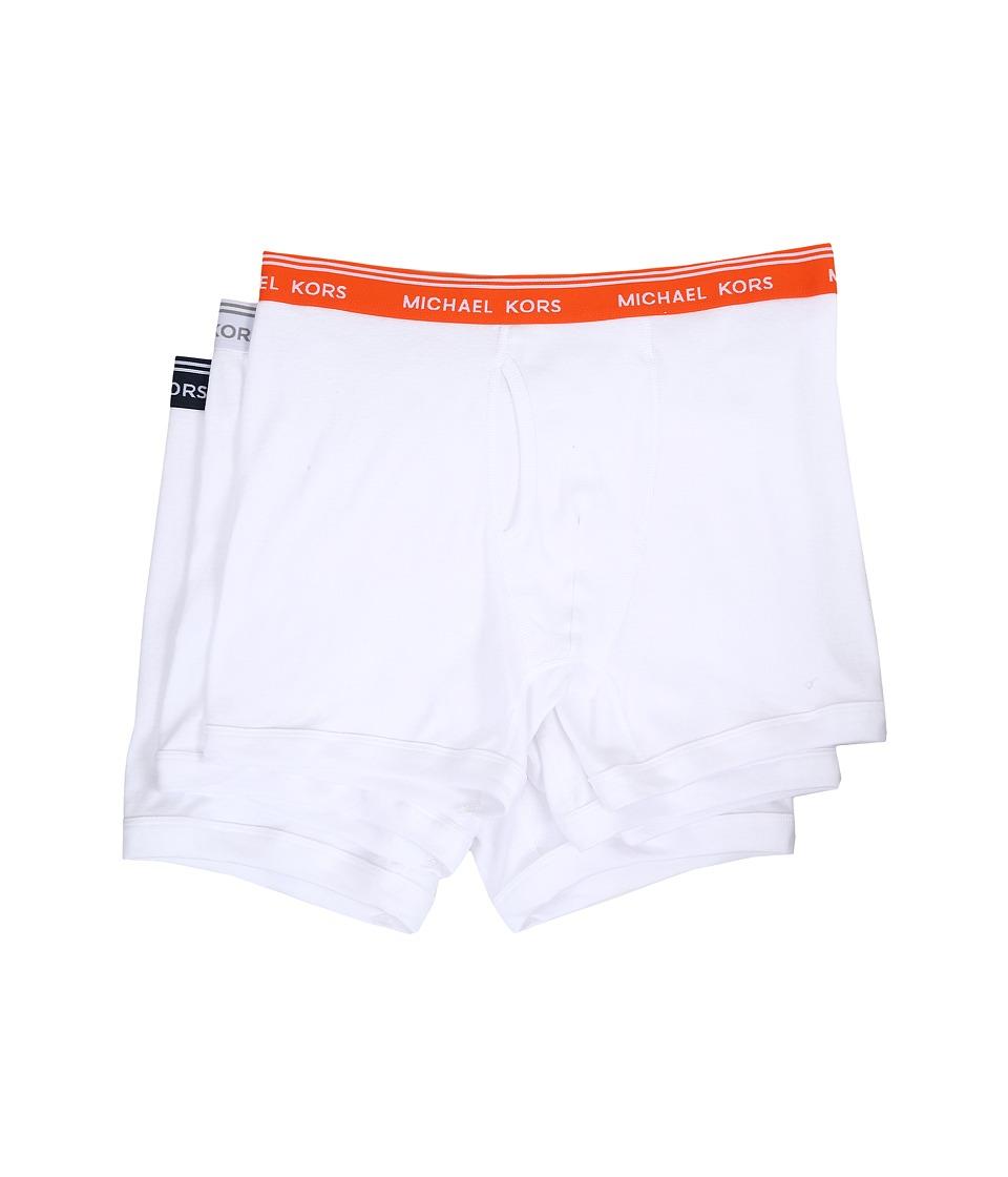 Michael Kors - Essentials Boxer Brief 3-Pack (White) Men's Underwear