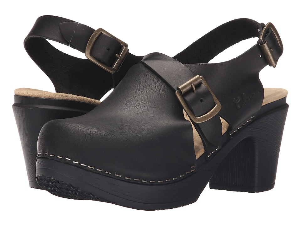 Calou Stockholm Astrid Soft Black Womens Shoes