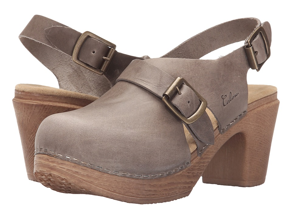 Calou Stockholm Astrid Soft Grey Womens Shoes