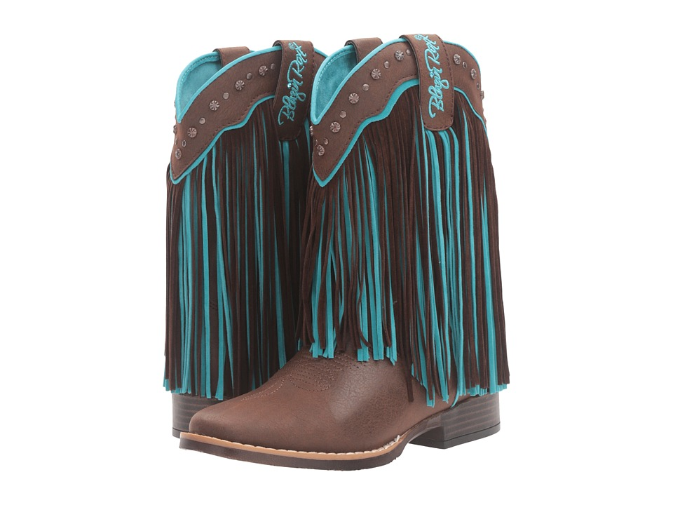 M&F Western Kids - Candace (Toddler/Little Kid) (Brown/Tu...