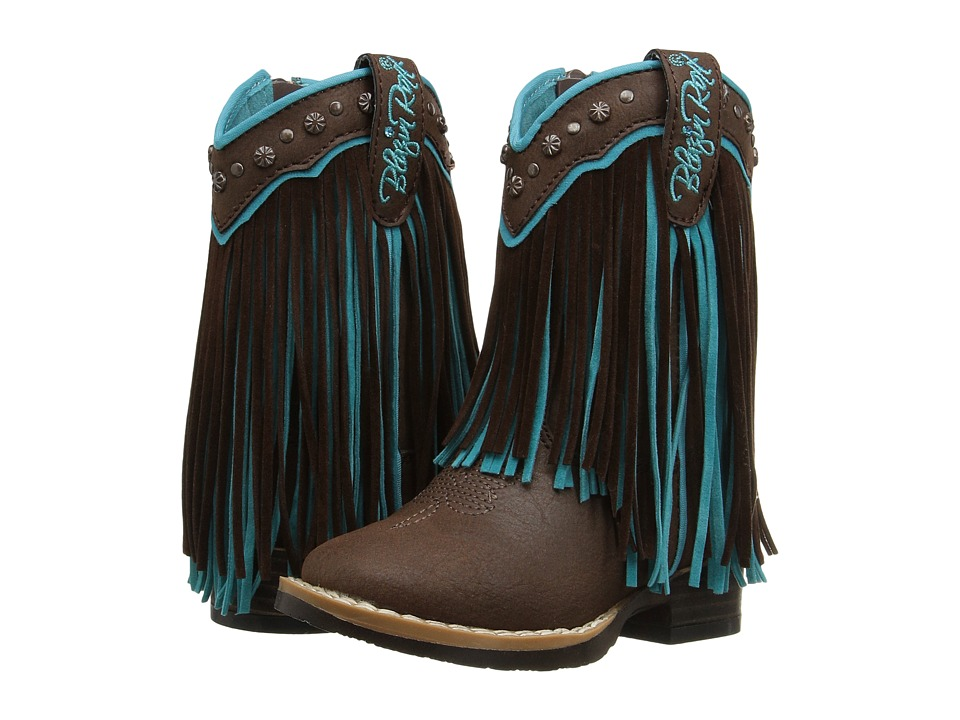 Blazin Roxx Candace (Toddler) (Brown/Turquoise) Girls Shoes