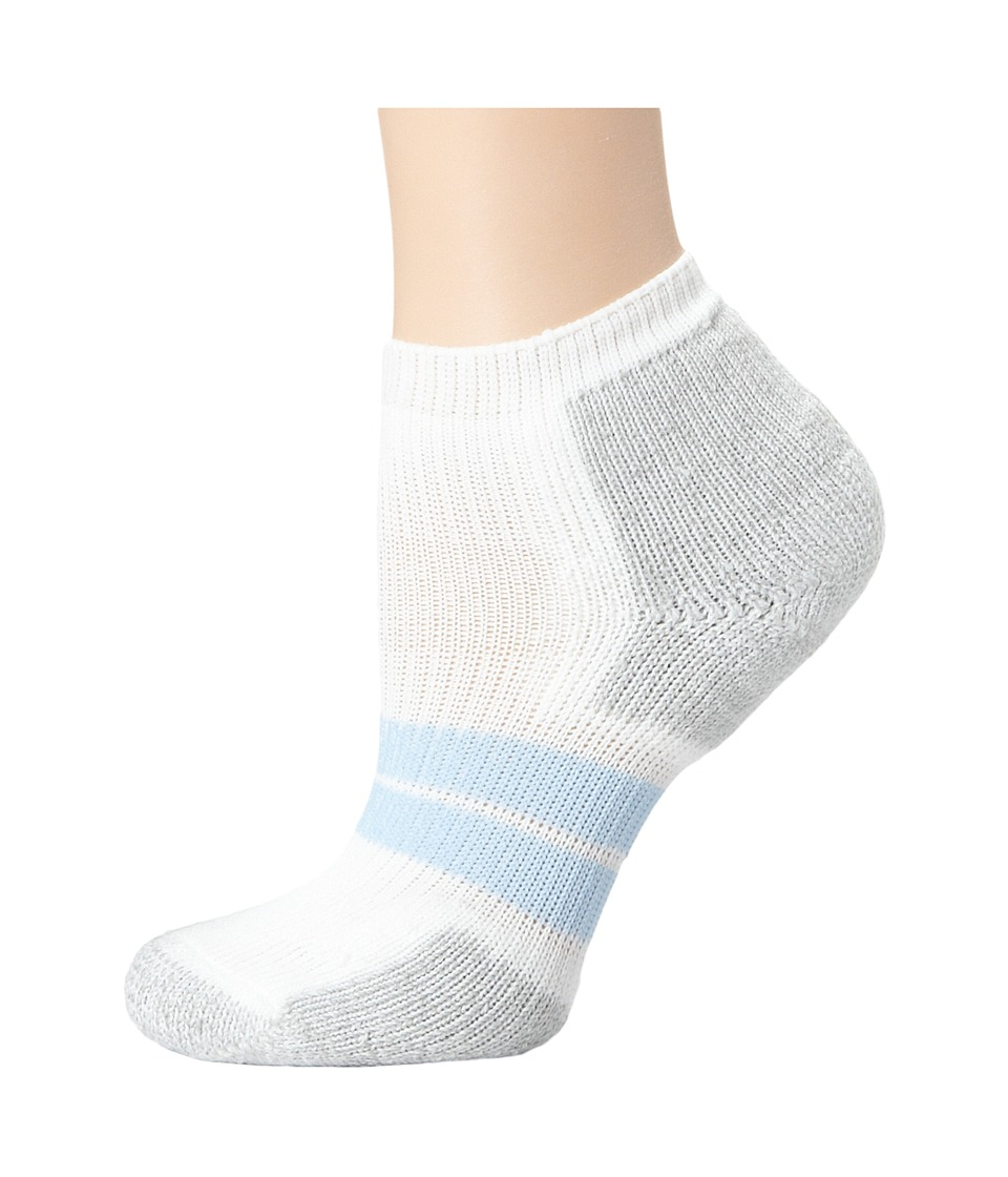 Thorlos 84N No Show Single Pair White Womens No Show Socks Shoes