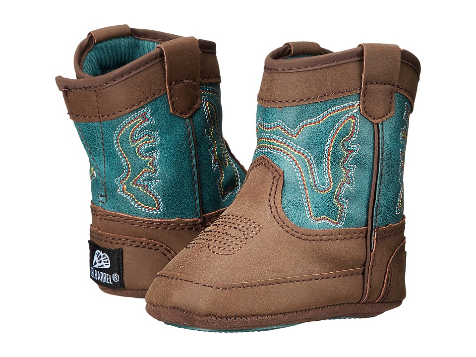 Blazin Roxx Bucker Open Range (Infant/Toddler) (Brown/Turquoise) Boys Shoes