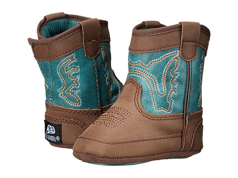 M&F Western Bucker Open Range (Infant/Toddler) - Brown/Turquoise
