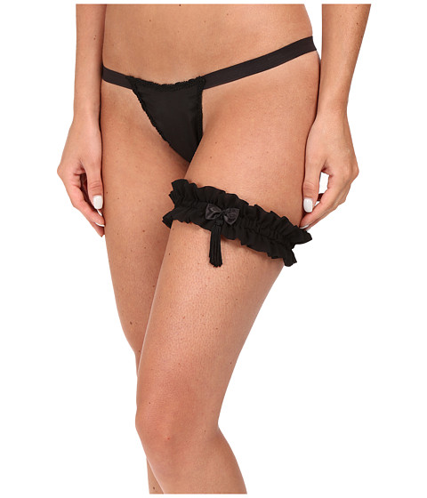 Only Hearts Josephine Silk G-String & 9923 Forget Me Not Garter