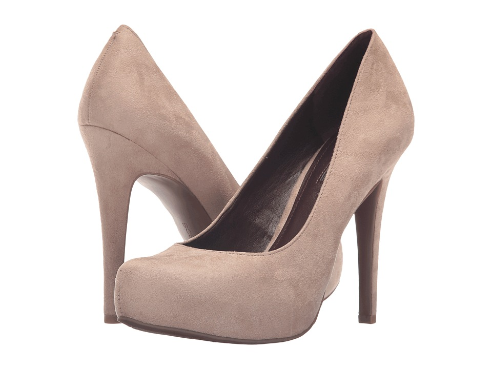 BCBGeneration Parade (Pumice Strech Suede) High Heel Shoes