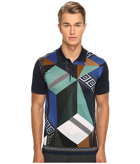 Versace Collection Printed Polo - Multi