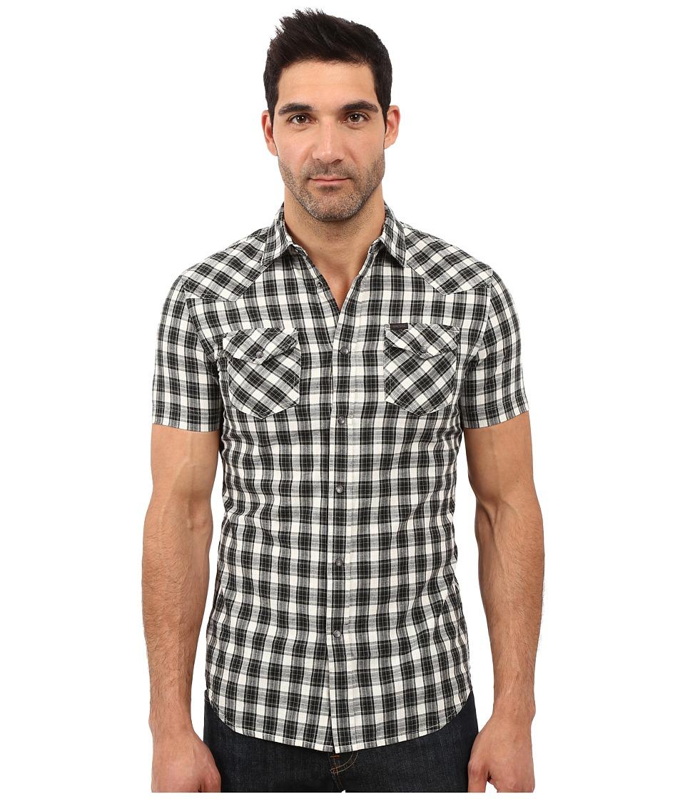 Diesel - S-Zule-Short Shirt (Black) Men