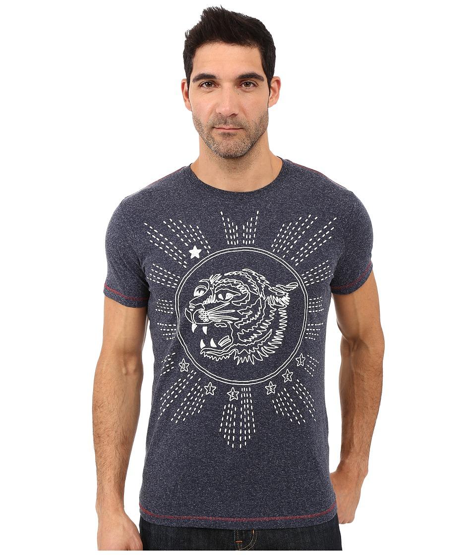 Diesel - T-Joe-Gu T-Shirt (Navy/Blue) Men