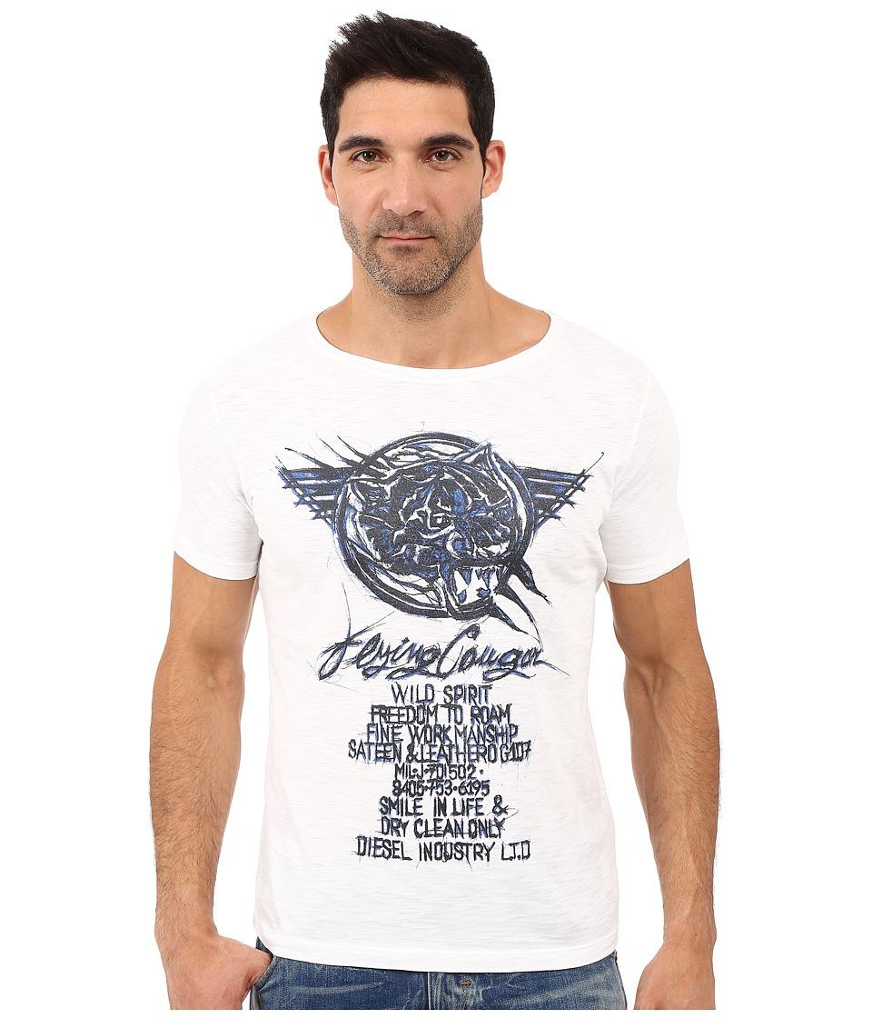 Diesel - T-Joe-Dc-G T-Shirt (White) Men