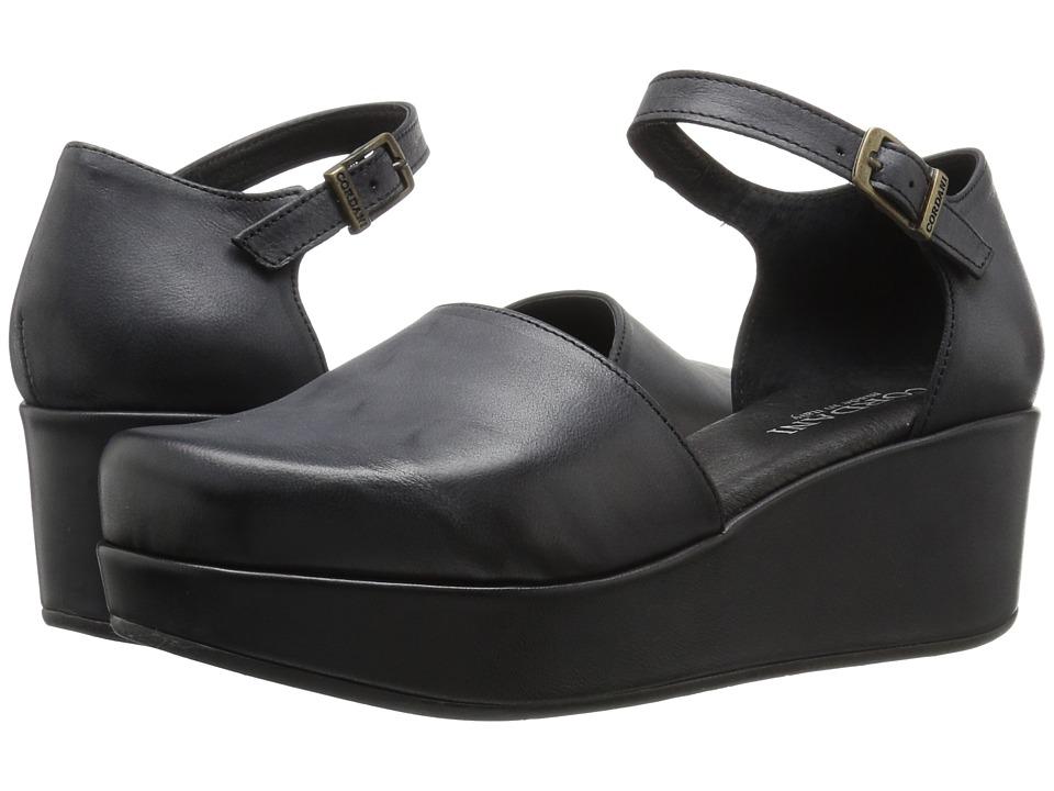 Cordani Cambria (Black Leather) Women
