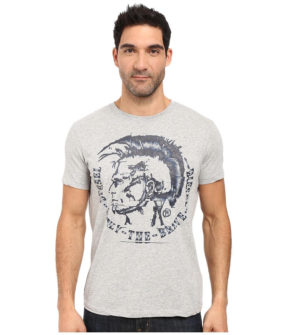 Diesel - T-Joe-Gf T-Shirt (Light/Grey) Men