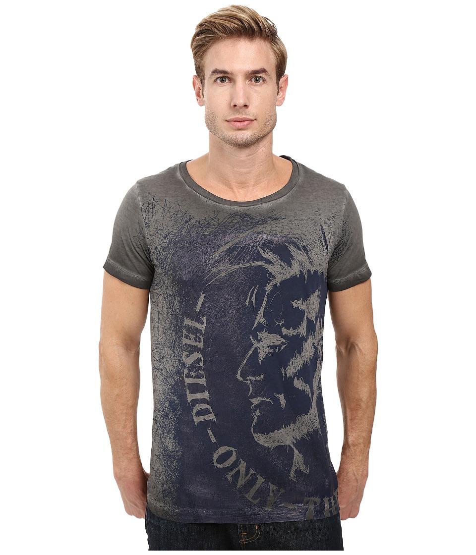 Diesel - T-Diego-Dc-F T-Shirt (Black) Men