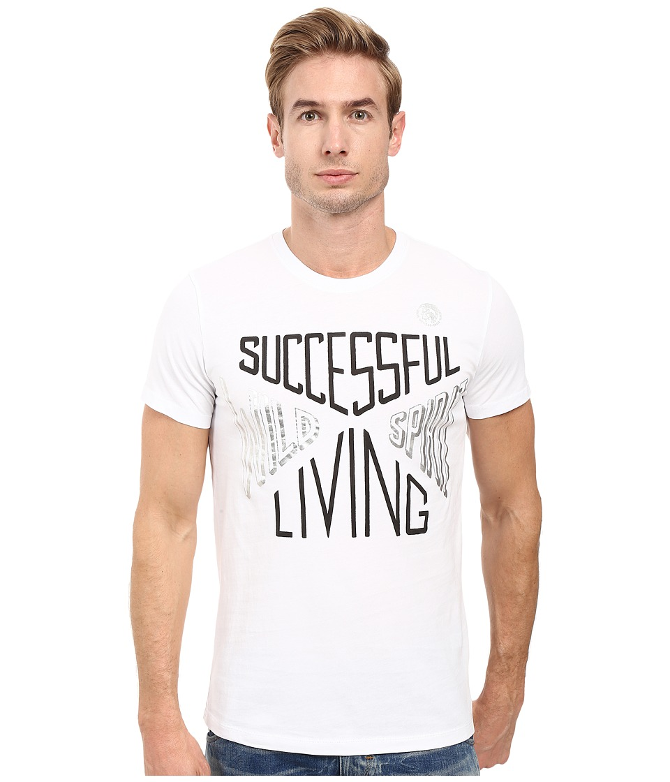 Diesel - T-Diego-Hh T-Shirt (White) Men