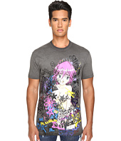 DSQUARED2 - Long Cool Fit Punk Manga Gang T-Shirt