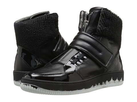 Just Cavalli Viper Horse Leather and Patent Leather