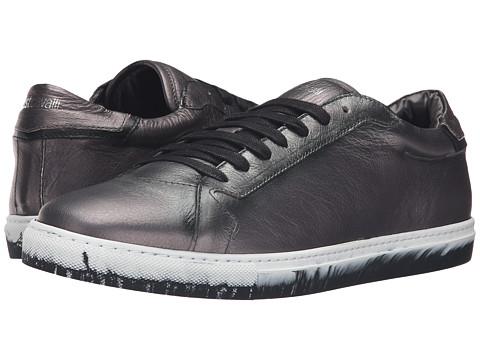 Just Cavalli Matt Lame Leather Sneakers