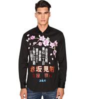 DSQUARED2 - Tokyo Metro Flower Relaxed Dan Shirt