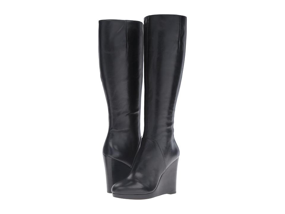 Nine West Harvee (Black Leather) Women