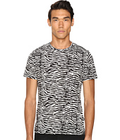 Just Cavalli - Slim Fit Zebra Vibe Printed T-Shirt