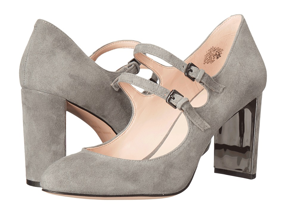 Nine West Academy (Grey Suede) Women