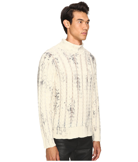 just cavalli alpaca tie dye pullover at. Black Bedroom Furniture Sets. Home Design Ideas