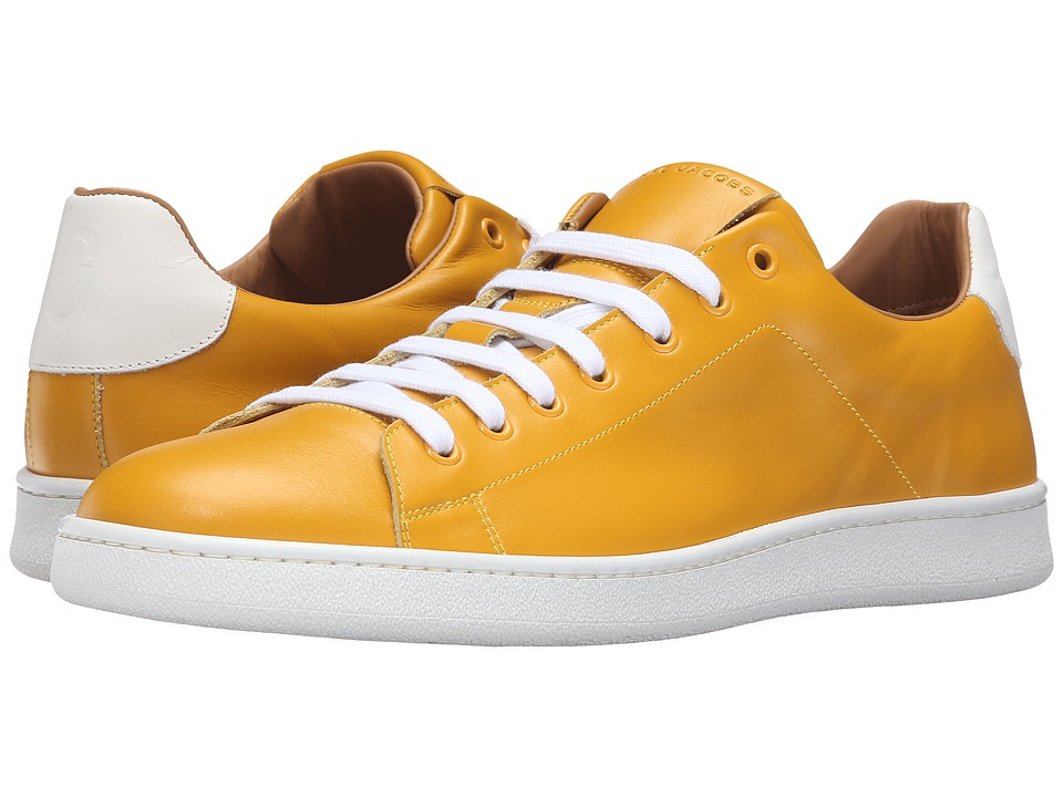 Marc Jacobs Clean Nappa Low Top Sneaker (Yellow) Men