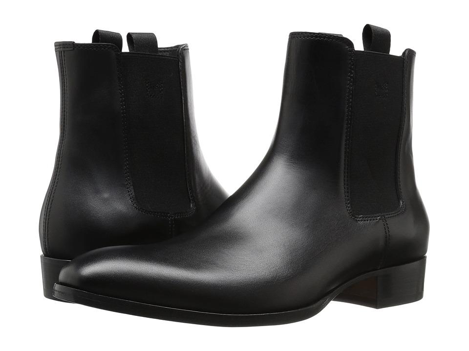 Marc Jacobs Classic Leather Chelsea Boot (Black) Men