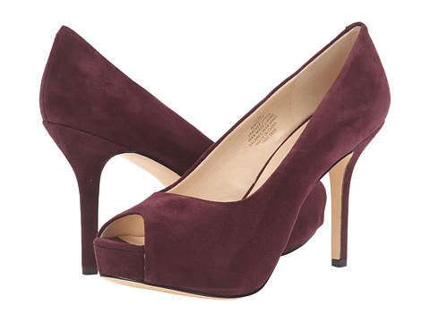 Nine West Qtpie - Wine Suede