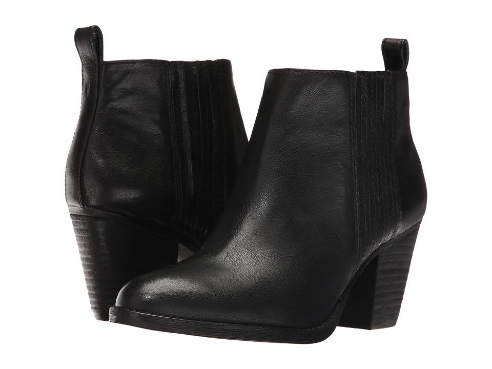 Nine West Fiffi (Black Leather) Women