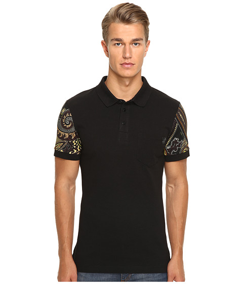 Versace Jeans Classic Polo with Print Detail