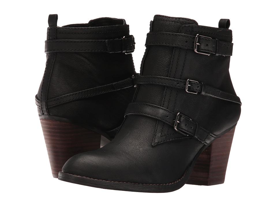 Nine West Fitz (Black Leather) Women