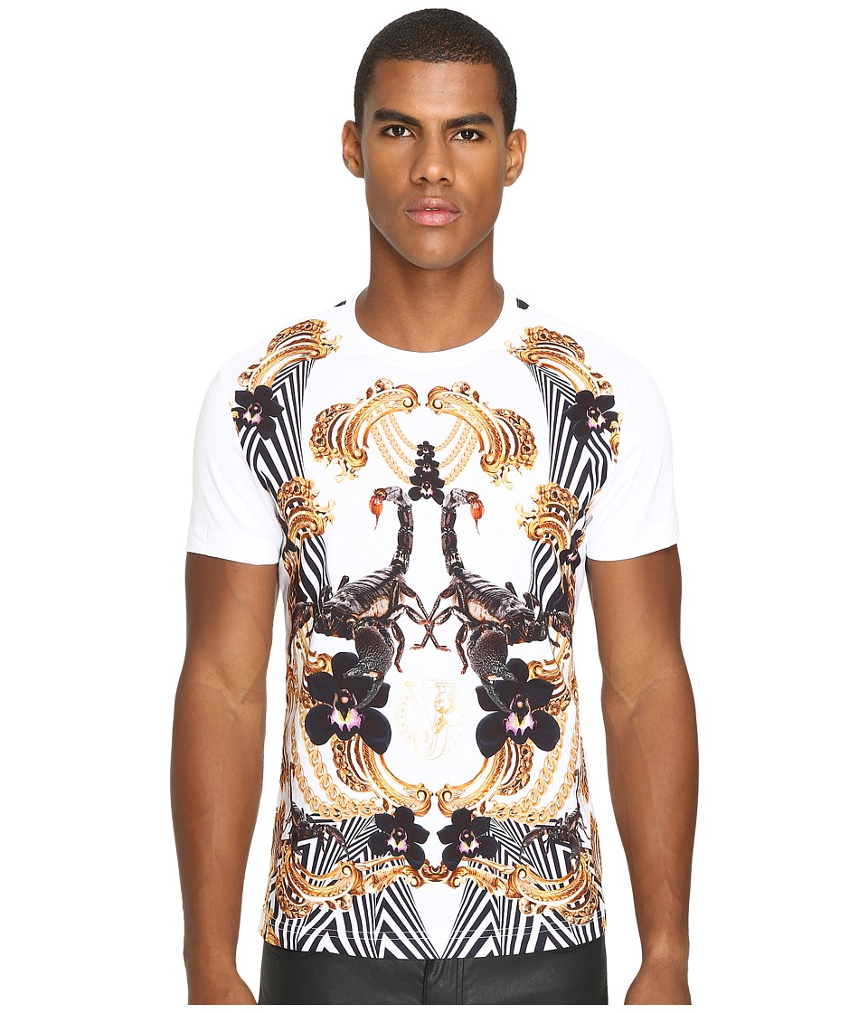 Versace Jeans - Classic Printed T-Shirt (White) Men