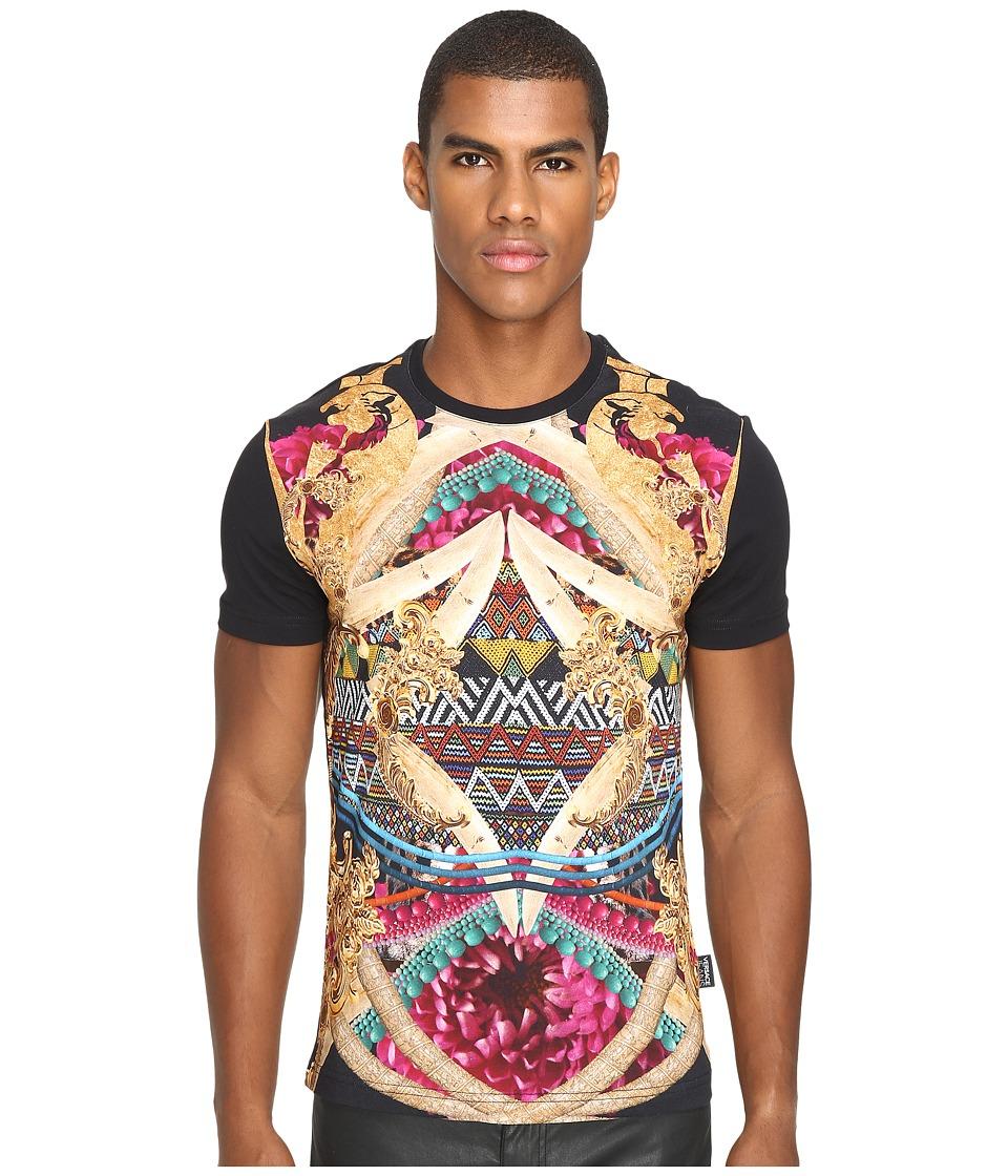 Versace Jeans Classic Printed T-Shirt (Black) Men