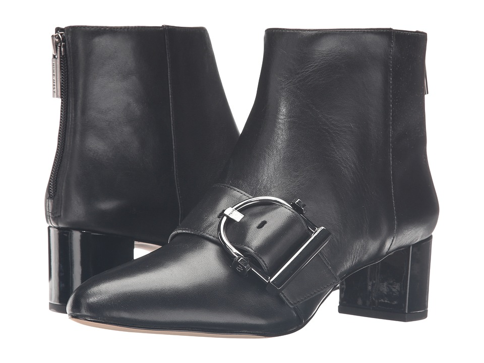 Nine West - Konah (Black Leather) Women