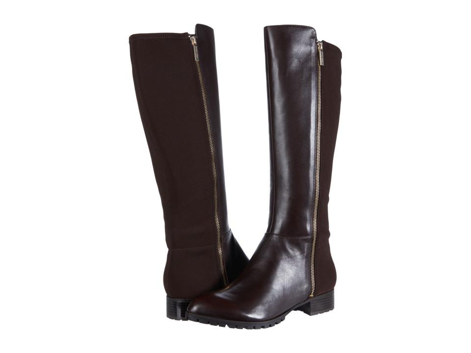 Nine West Legretto (Dark Brown/Dark Brown Leather) Women