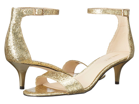 Nine West Leisa - Light Gold Synthetic