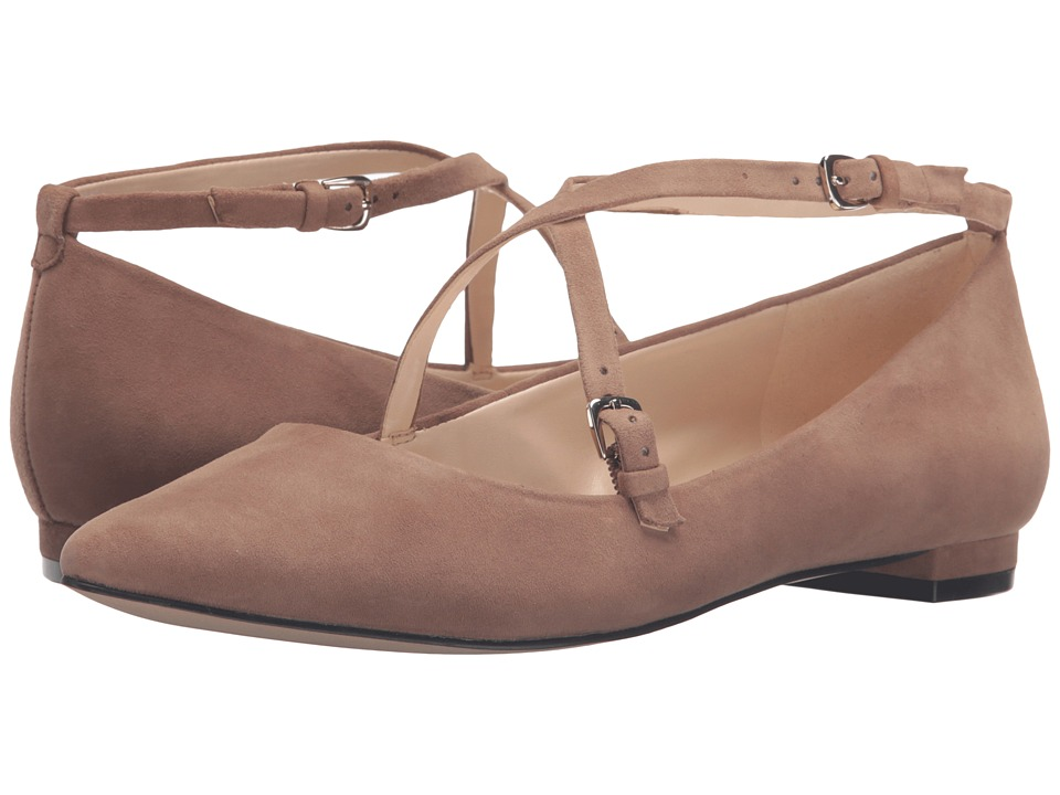 Nine West Anastagia (Natural Suede) Women
