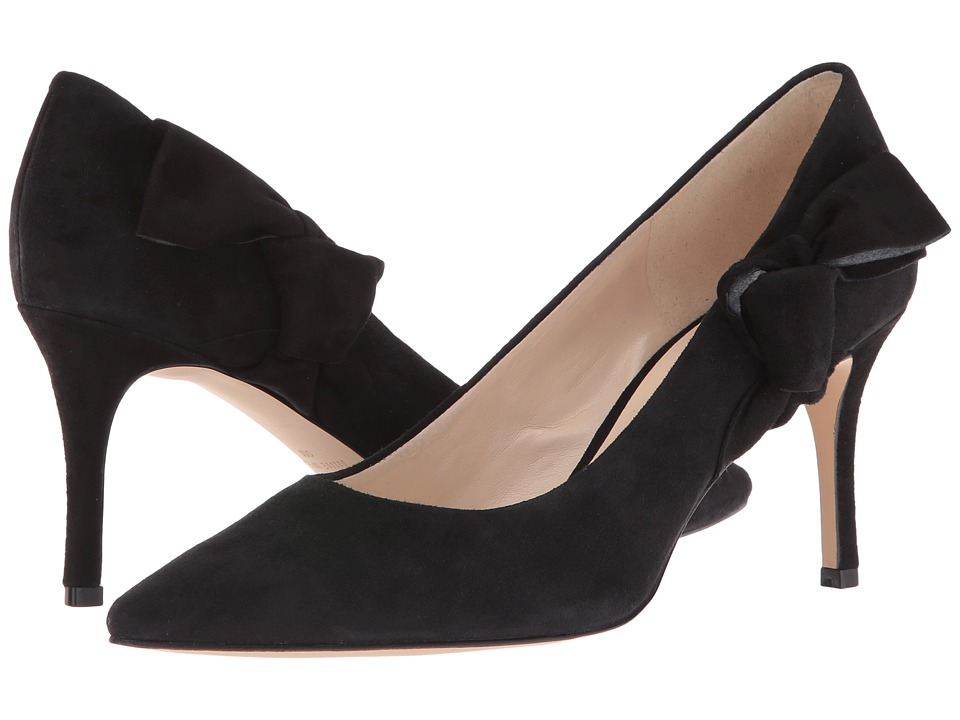 Nine West - Melliah (Black Suede) High Heels