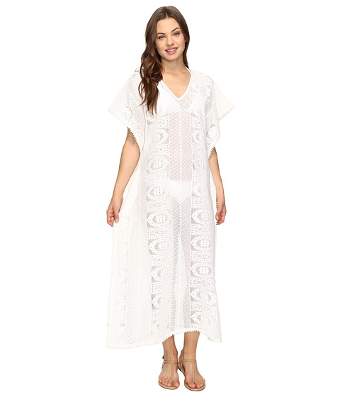 Seafolly Floral Lace Maxi Kaftan Cover-Up