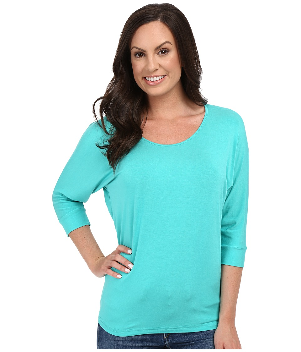 Cruel Dolman w/ Back Tie Detail Turquoise Womens Clothing